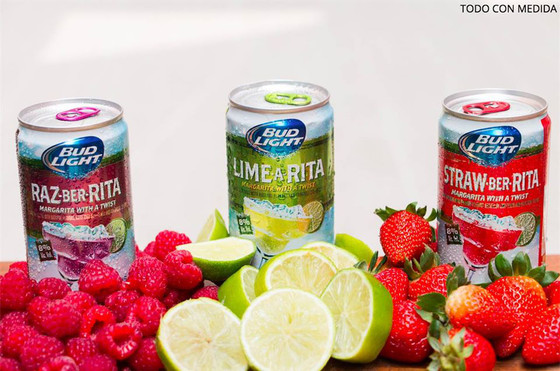 bud light ritas