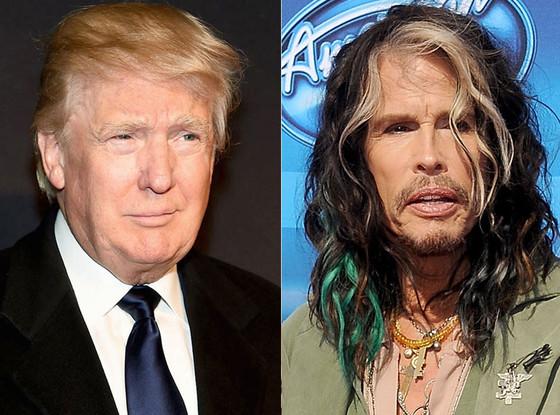 DOnald Trump, Steven Tyler