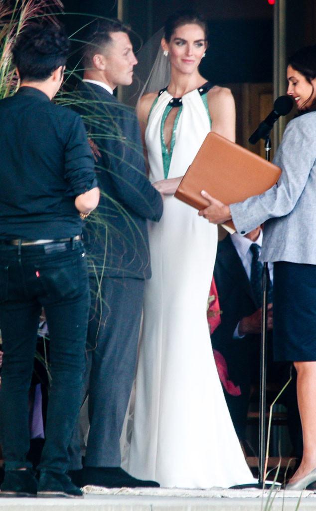 Sean Avery, Hilary Rhoda, Wedding