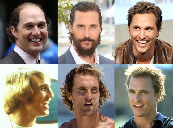 Matthew McConaughey, Hair