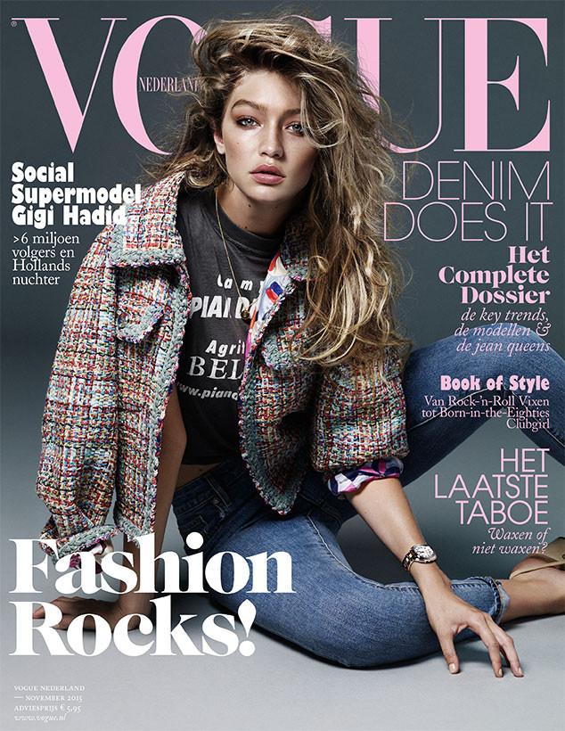 Gigi Hadid, Vogue Netherlands