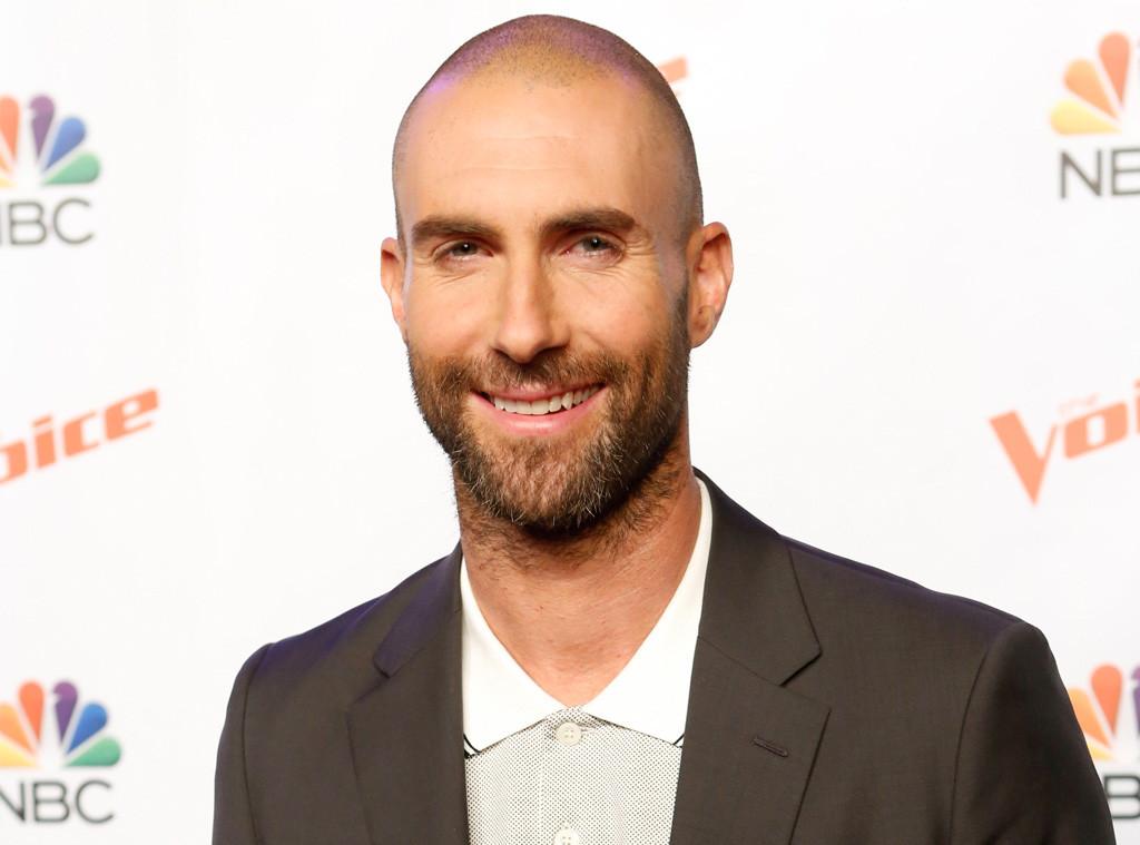 adam levine s bald head causes total heartbreak on twitter read his
