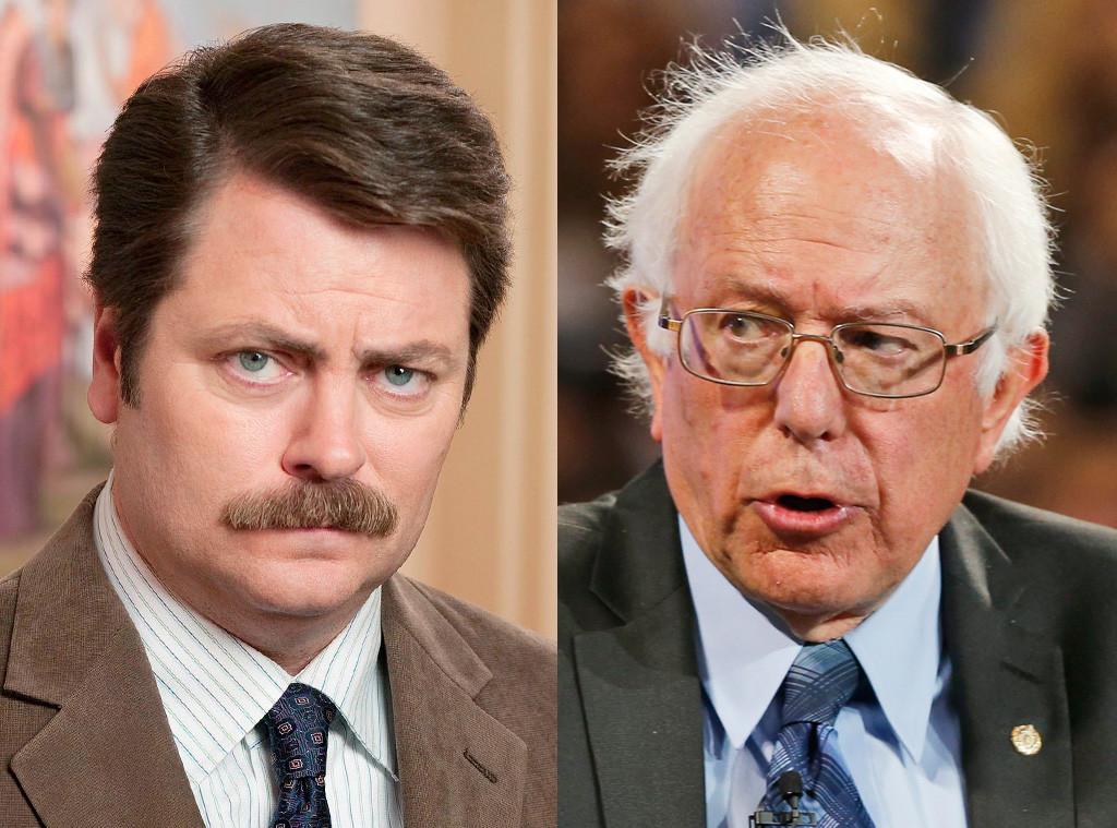 Who Said It Bernie Sanders Or Ron Swanson Take Our Democratic
