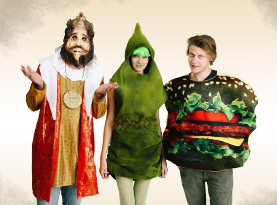 Burger King Whopper, Green Poop Costume