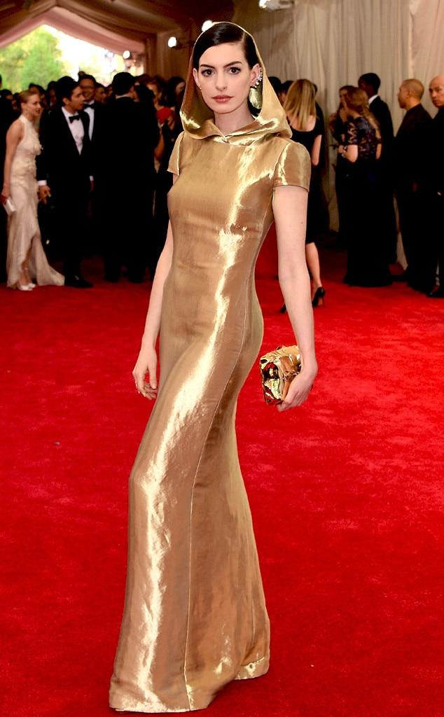 Anne Hathaway, Met Gala 2015, Ralph Lauren
