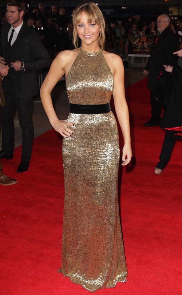 Jennifer Lawrence from Ralph Lauren\'s Most Memorable Red Carpet ...
