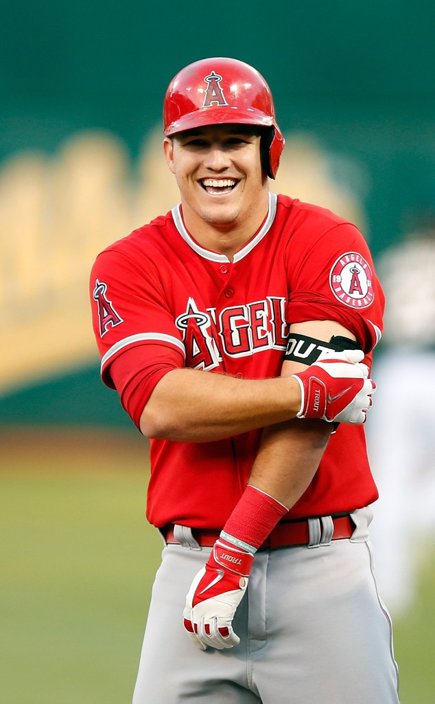 Hot Baseball Players Mike Trout