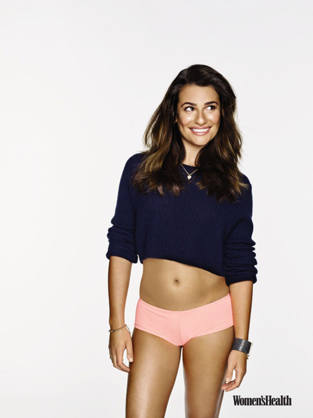 Lea Michele, Women's Health