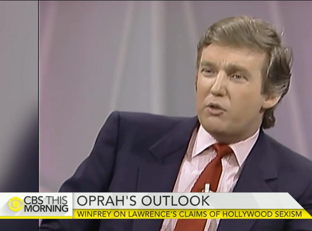 Donald Trump, Oprah Winfrey, President