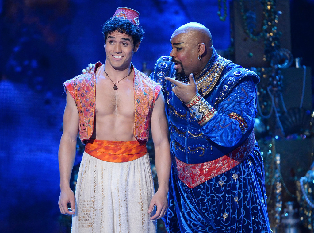 aladdin cast members reflect on the musical u0026 39 s rough
