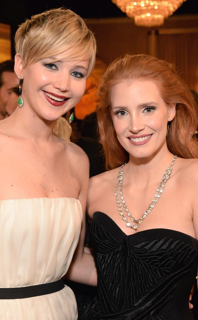 Jennifer Lawrence, Jessica Chastain