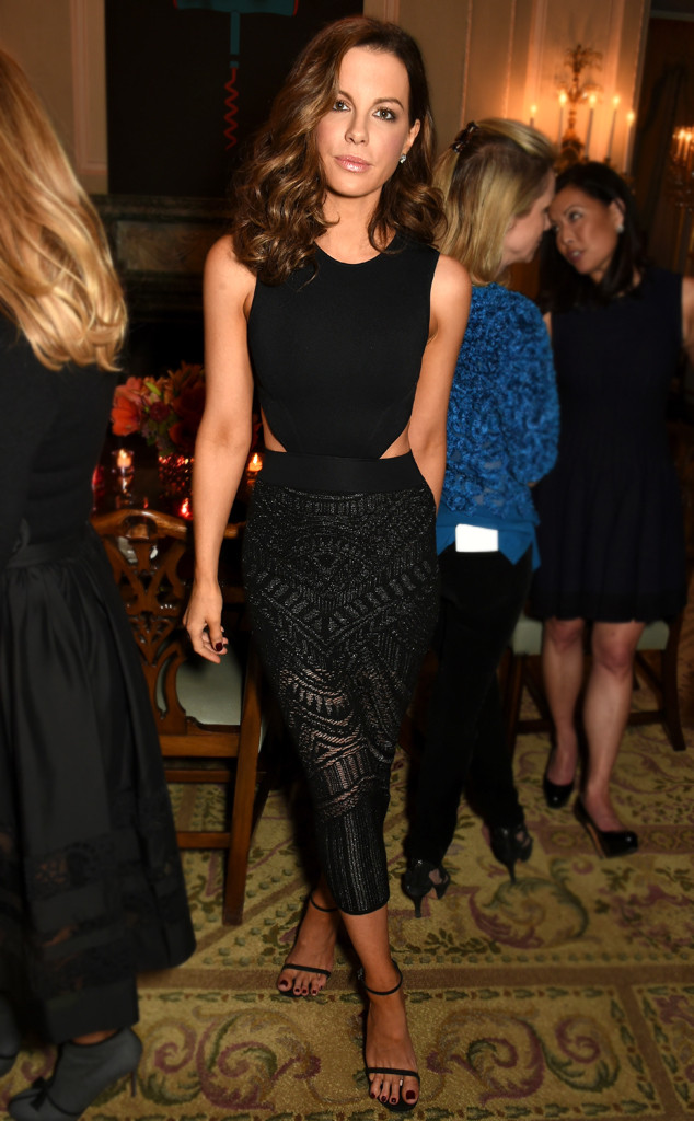 Kate Beckinsales Shorter Do Is Going To Be Your Fall Perfect