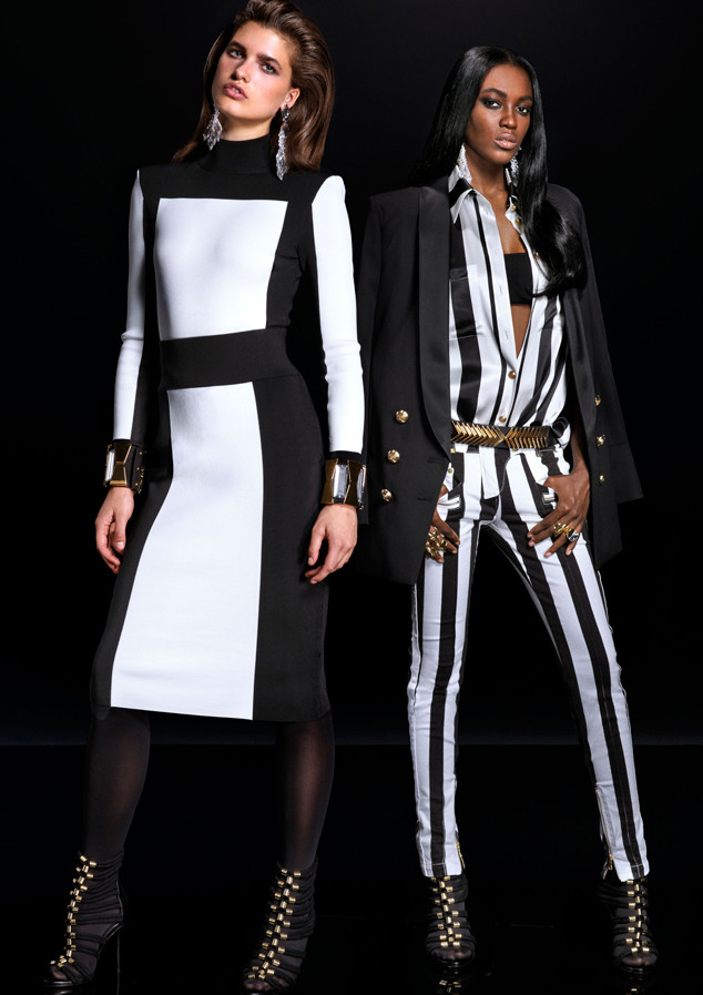 7c3267491703 Balmain for H&M's Look Book Has Arrived—See Every Item from the ...