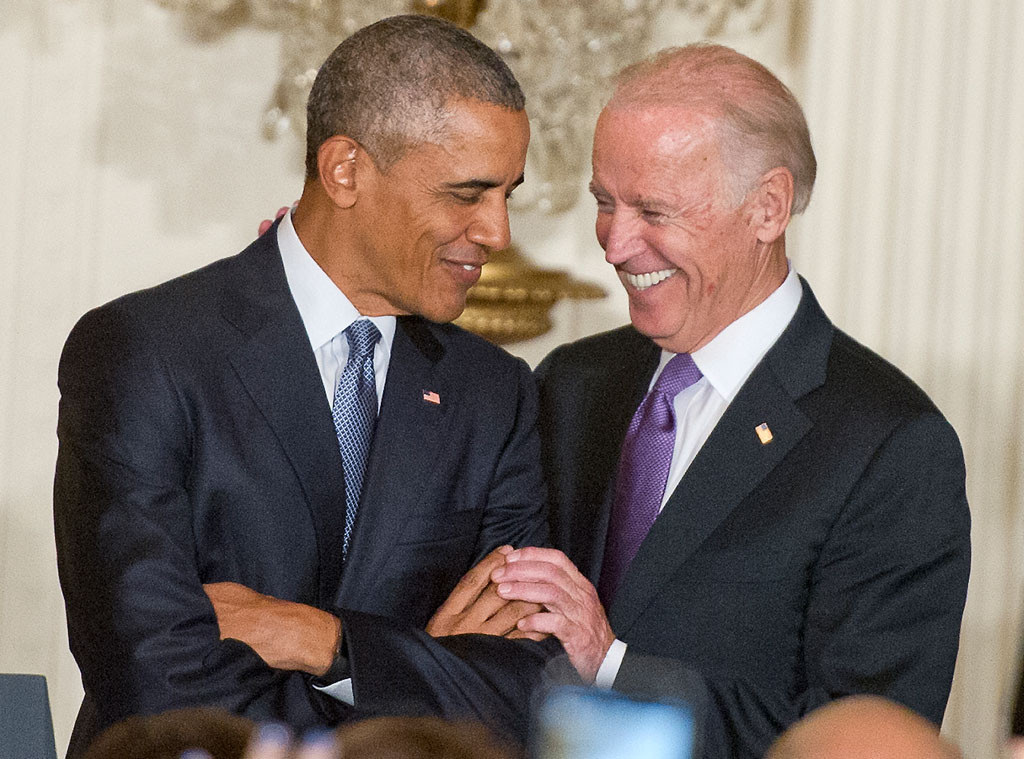 Barack Obama And Joe Biden S Bromance Is Alive And Well E Online