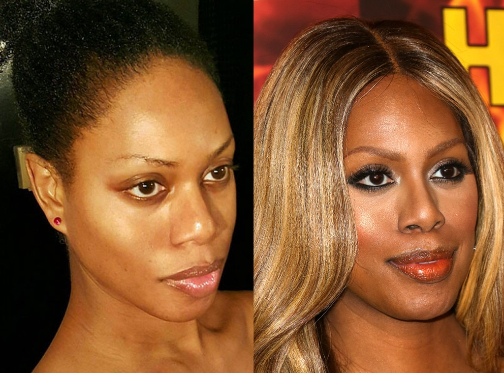 Laverne Cox -  The  Orange Is the New Black  star is #AuNaturale in this #NoMakeup #NoFilter #NoWeave selfie  .