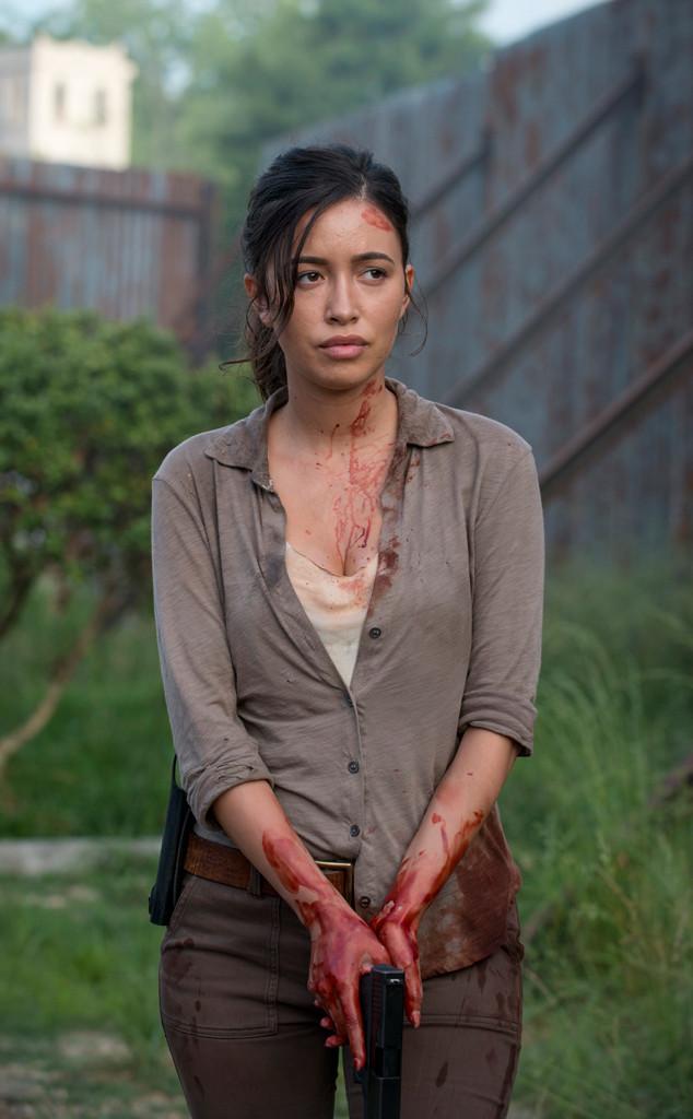 Christian Serratos, The Walking Dead