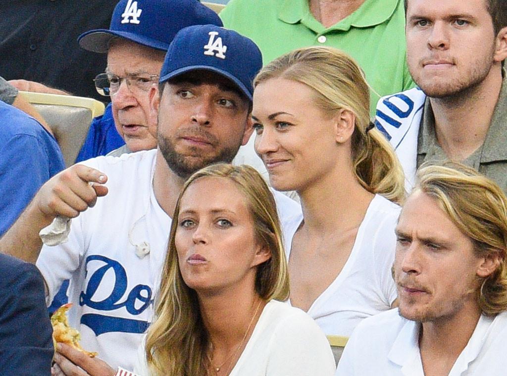Chuck's Zachary Levi & Yvonne Strahovski Reunite at MLB Game E News