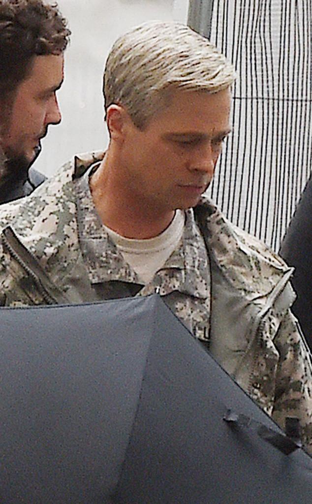 Brad Pitt, Grey Hair