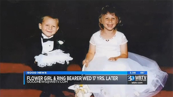Flower Girl and Ring Bearer Marry Each Other in the Same