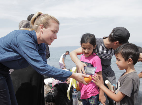 Piper Perabo, Syrian Refugee Crisis