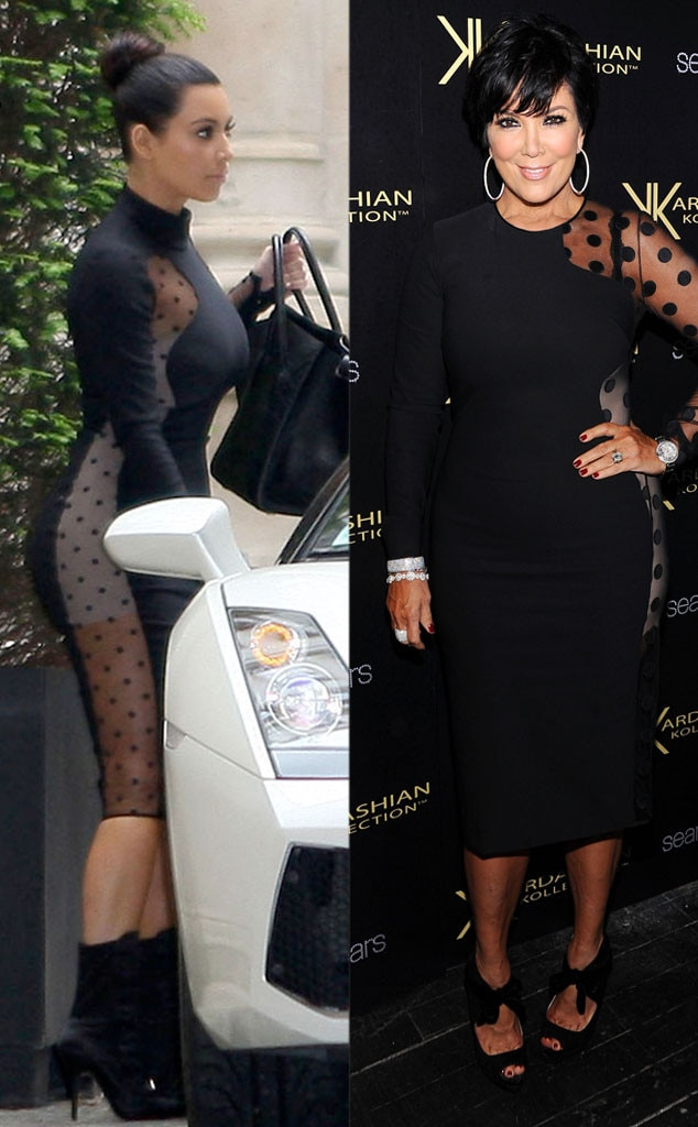 Cut It Out From Kris Jenner 39 S Copycat Style E News