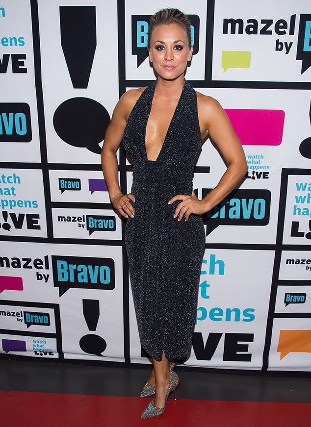 Kaley Cuoco, Watch What Happens Live Red Carpet