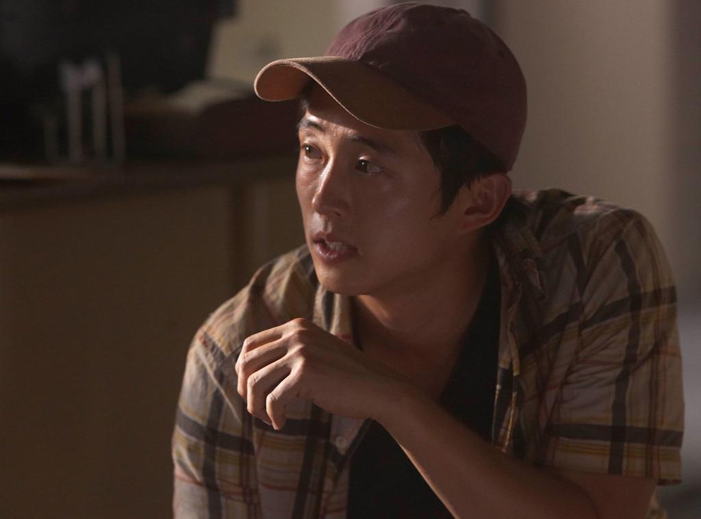 Glenn (Steven Yeun) from The Walking Dead Then & Now: See ...  Glenn (Steven Y...