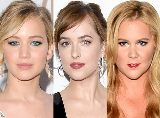 Jennifer Lawrence, Amy Schumer, Dakota Johnson
