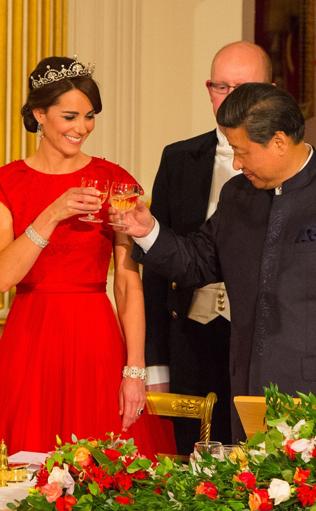 Chinese President Xi Jinping, Catherine, Duchess of Cambridge, Kate Middleton