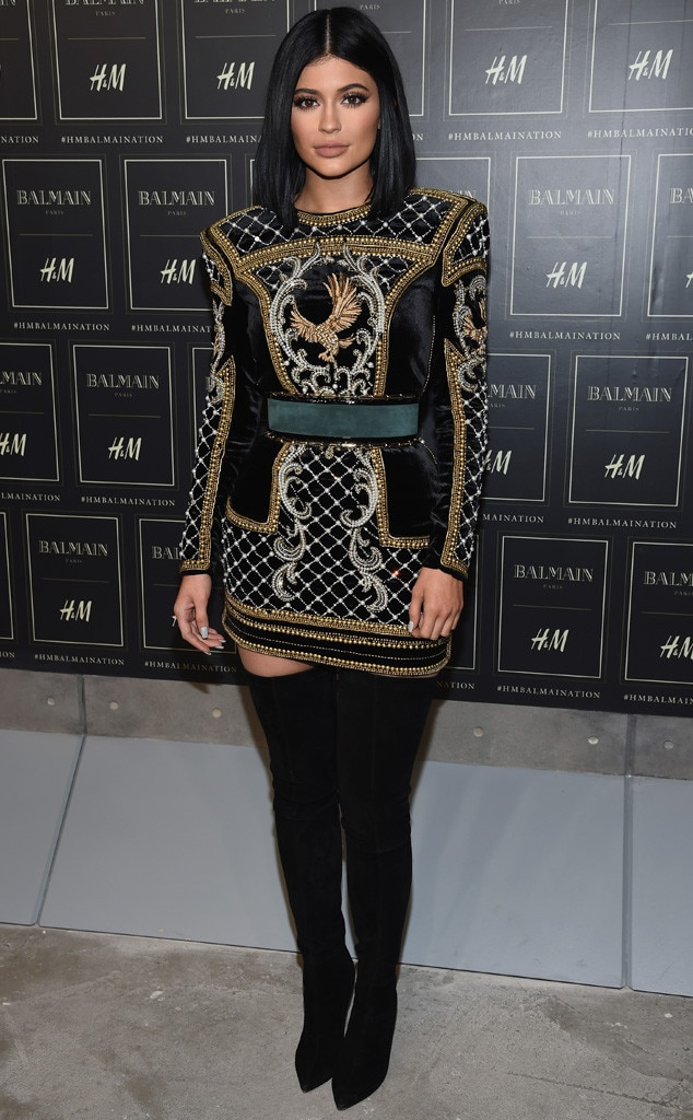 Balmain Nation From Kylie Jenner S Best Looks E News