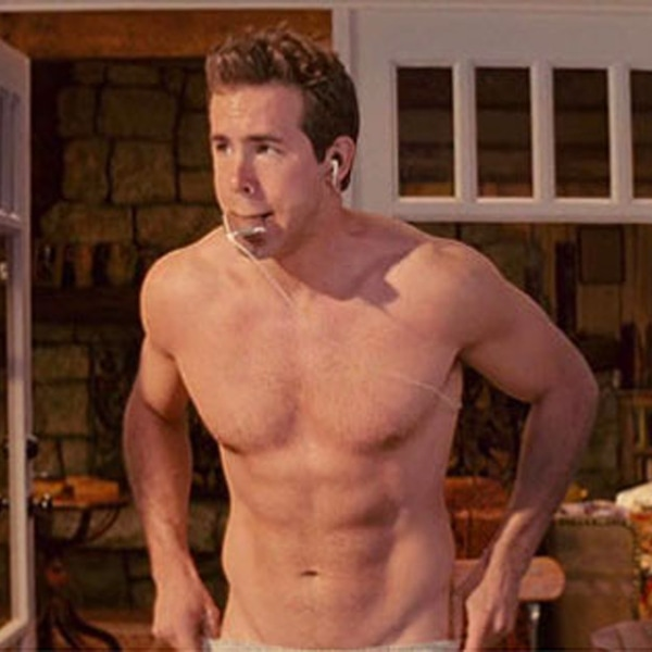 Shirtless Hunk From Ryan Reynolds Hates Shirts E News