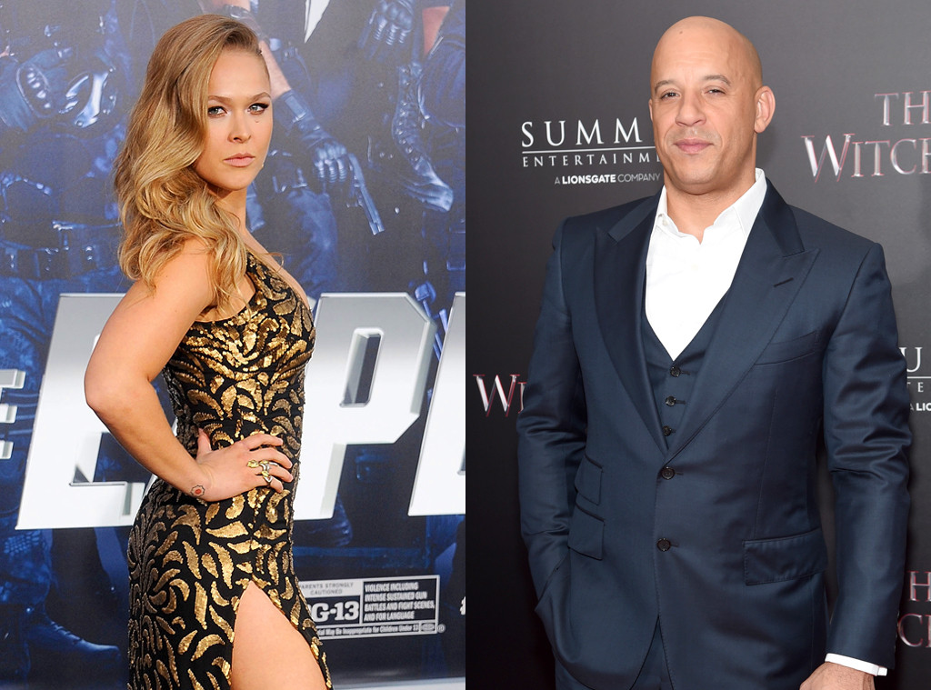 Ronda Rousey Is Training Vin Diesel\'s 7-Year-Old Daughter in Judo ...