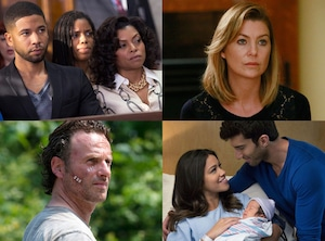 Empire, Grey's Anatomy, The Walking Dead, Jane the Virgin