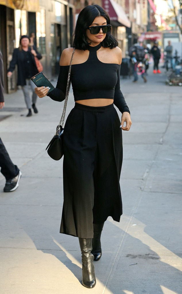 Culottes Cool from Kylie Jenneru0026#39;s Street Style   E! News
