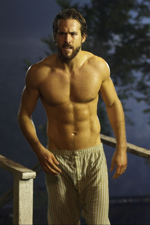 Celebrate Ryan Reynolds Birthday With His Best Shirtless Pics  E News-2341