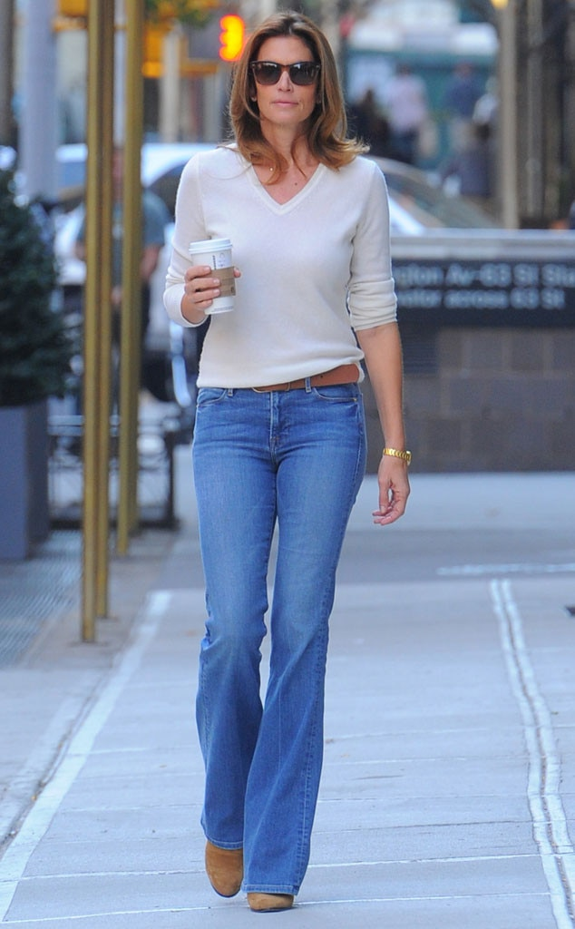 Blue Jean From Celebrity Street Style E News