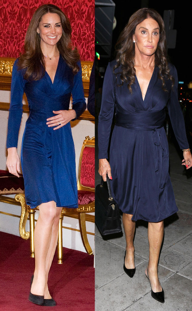 Kate Middleton, Caitlyn Jenner