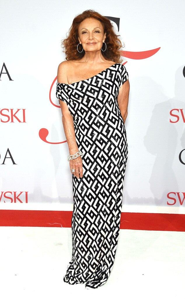 Diane Von Furstenberg From Sexy Female Stars In Their 60s