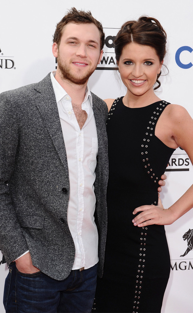 American idol winner phillip phillips is married e news phillip phillips hannah blackwell m4hsunfo Images