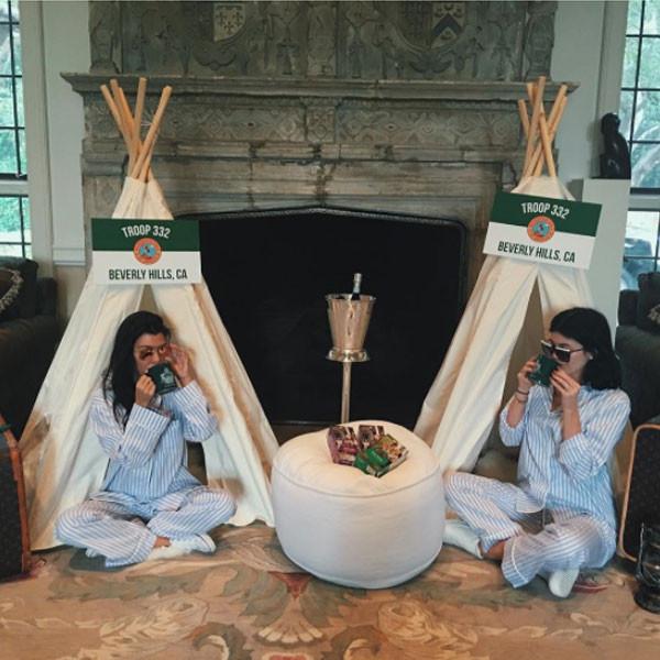 kourtney kardashian kylie jenner instagram celeb baby showers