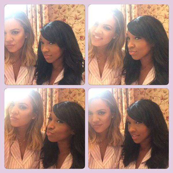 Khloe Kardashian Debuts New Freshly Chopped Locks At Kim