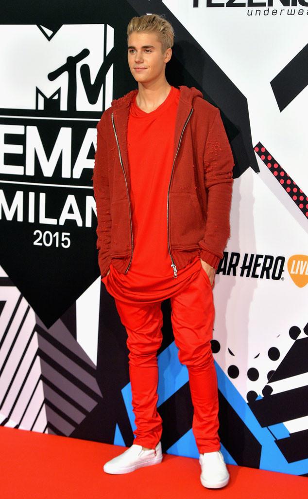 MTV EMA, Justin Bieber