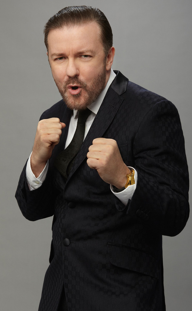 Ricky Gervais, Golden Globes Promo