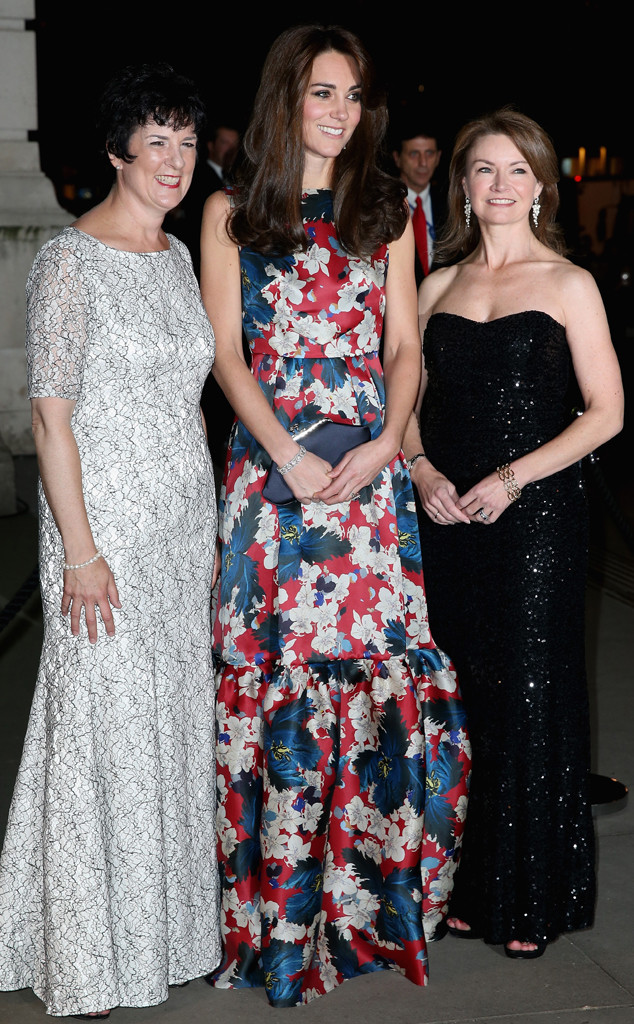 Kate Middleton Looks Absolutely Stunning In Bold Floral