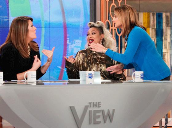 Michelle Collins, Raven-Symone, Paula Faris, The View