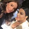 Kim Kardashian, Caitlyn Jenner, Instagram