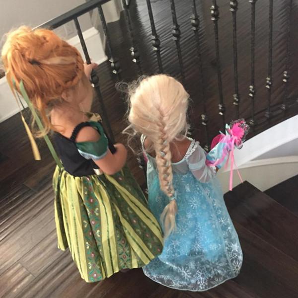 North West, Penelope Disick, Frozen, Halloween