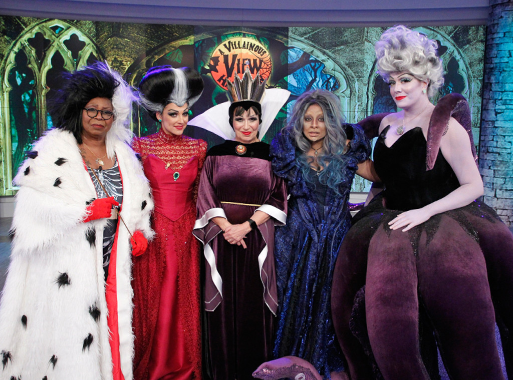 The View Hosts Dress Up as Disney Villains: See the Uncanny