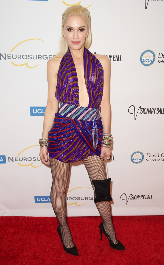 Colorful Bohemian from Gwen Stefani\'s Best Looks | E! News