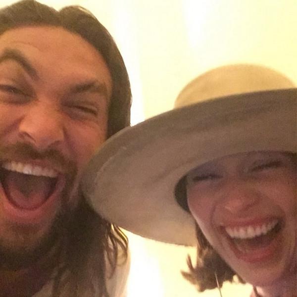 Emilia Clarke, Jason Momoa